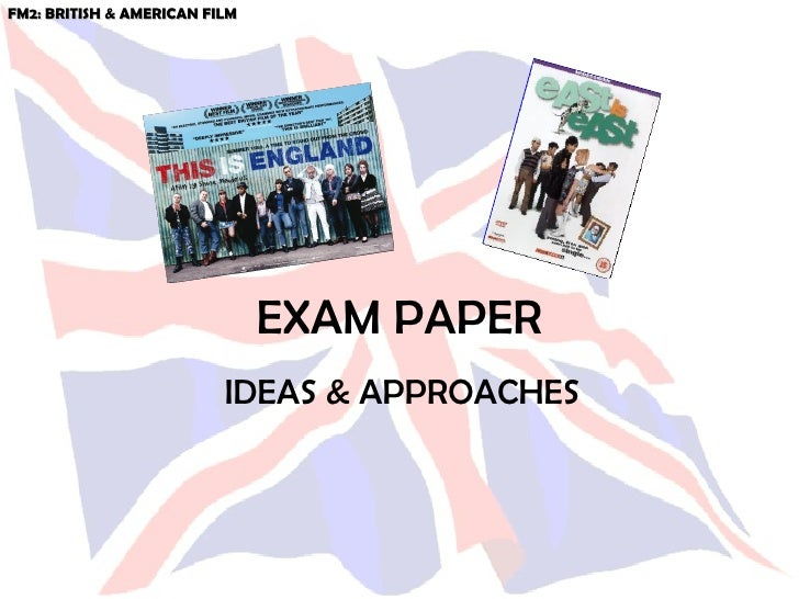 Exam Paper Narratives & Identity