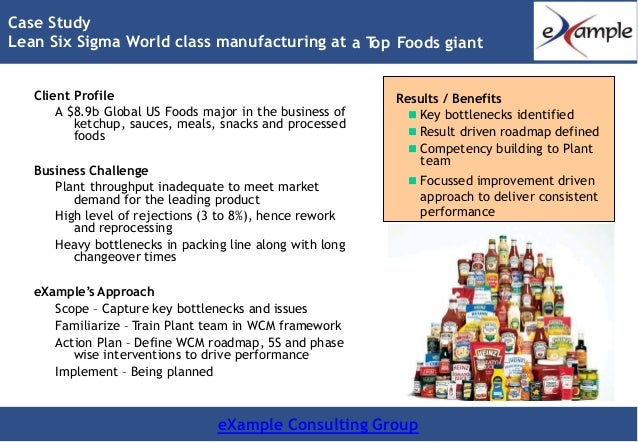 case study on worldclase manufacturing