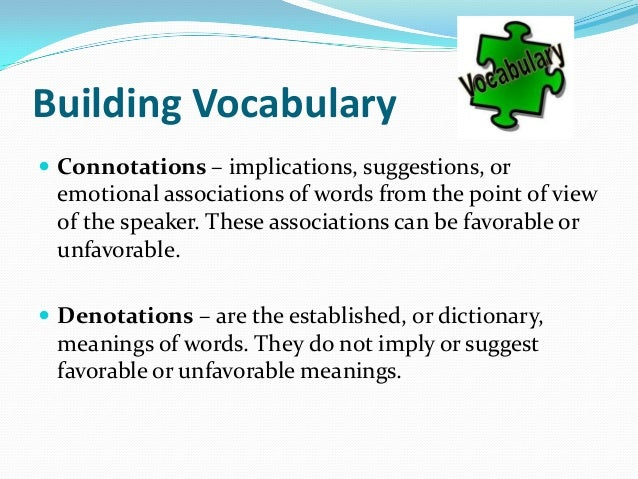 Vocabulary For Essay Writing