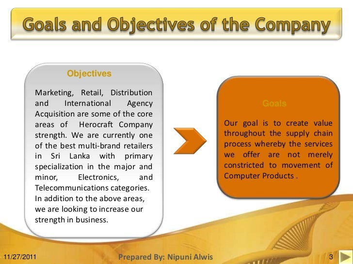 It company it company goals and objectives examples it company goals and objectives examples images fbccfo Gallery