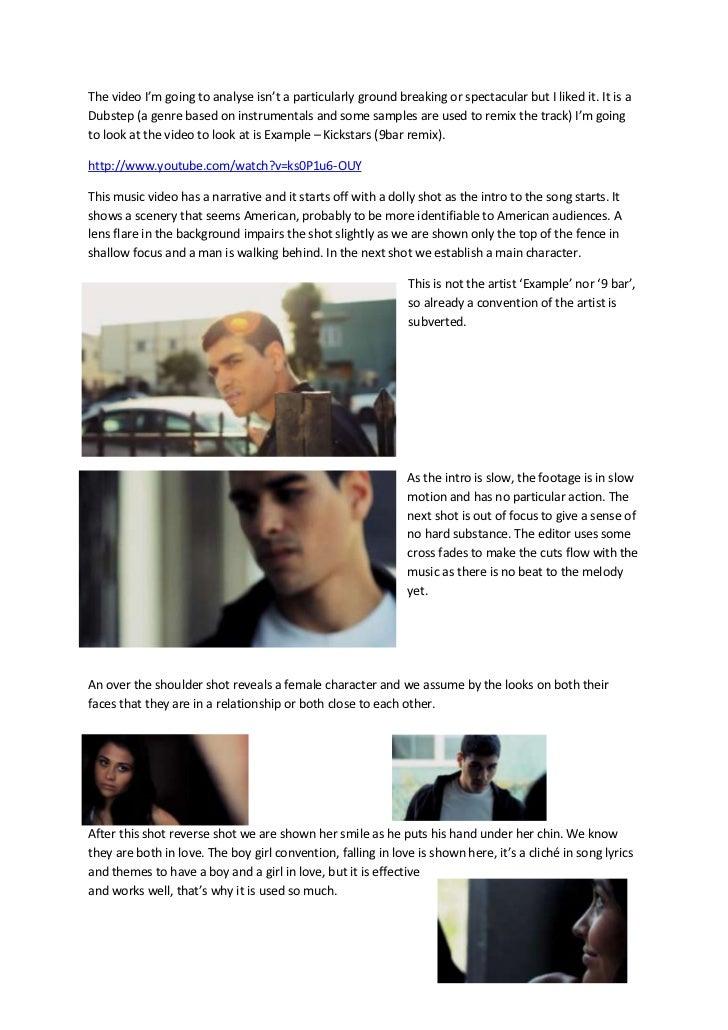 Example kickstart 9bar remix analagy