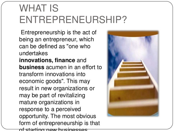 an introduction to the analysis of being an entrepreneur The entrepreneurial business analysis practitioner  there is more to being an entrepreneur, which i'll cover in another article  entrepreneur first, let me.
