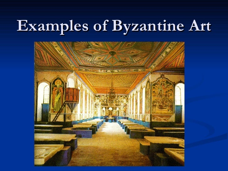 Examples of Byzantine Art