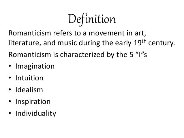 romanticism period music essay