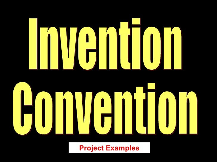 Invention Convention Project