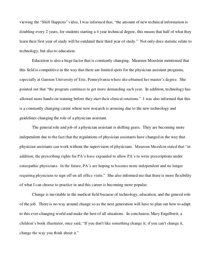 health history interview example essay - Example Of A Mla Essay