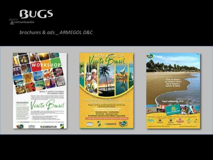 brochures & ads _ ARMEGOL D&C<br />