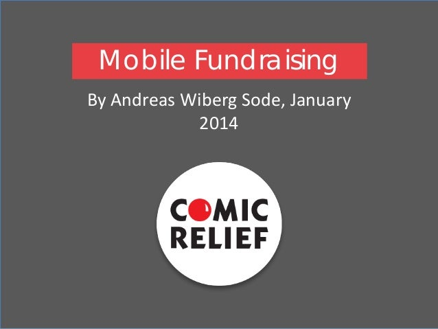 Mobile Fundraising By Andreas Wiberg Sode, January 2014