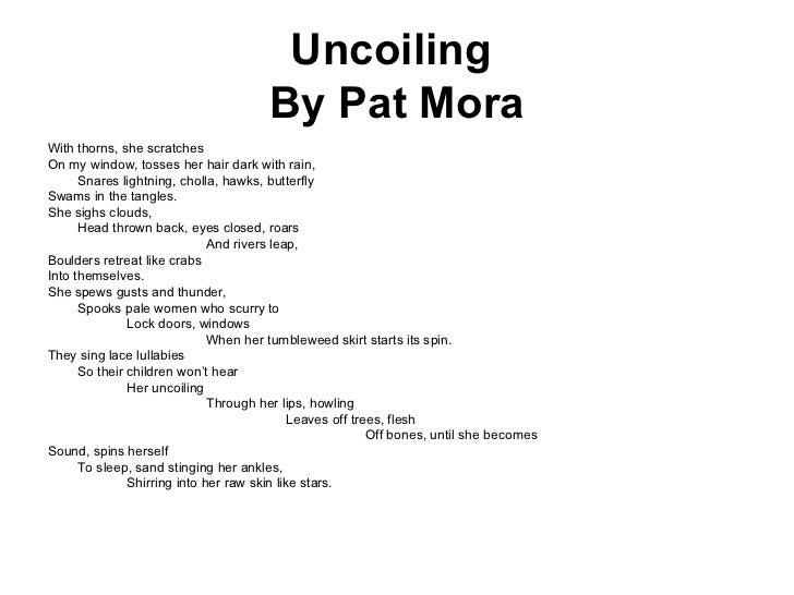 pat mora elena Elena by poet pat mora my spanish isn`t good enough i remember how i`d sm.