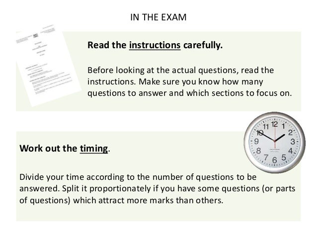 What is an essay type question exams?