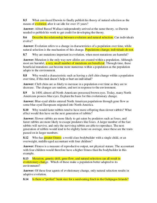 theory evolution theory evolution study guide rh theoryevolutionridoten blogspot com biology evolution test study guide answers chapter 10 biology evolution study guide answers