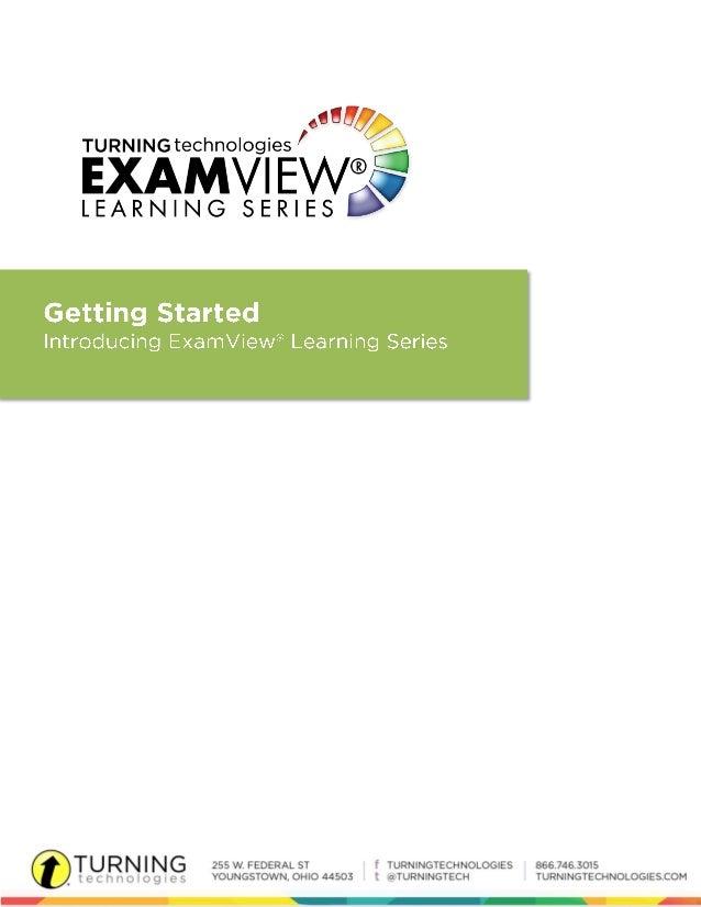Exam viewls gettingstartedguide