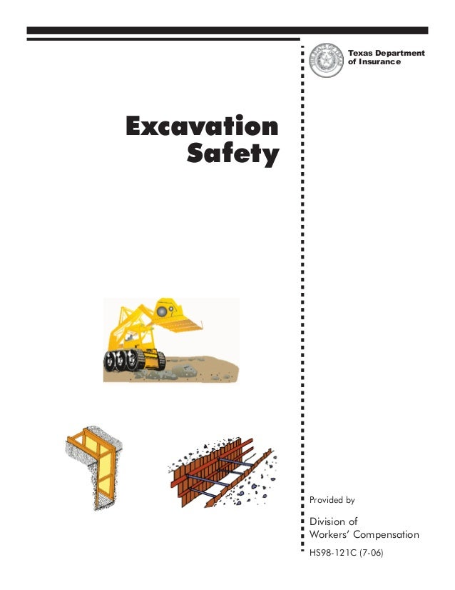 Texas Department                      of InsuranceExcavation    Safety             Provided by             Division of    ...