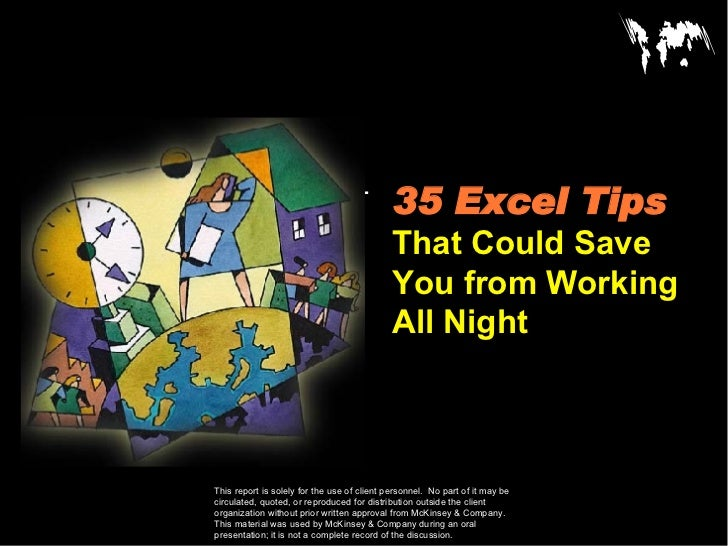 Excel Useful Tips