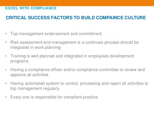 Excel with compliance - Qualifications for compliance officer ...