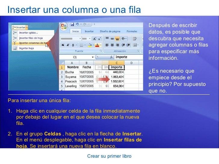 Excel 2007 primer archivo