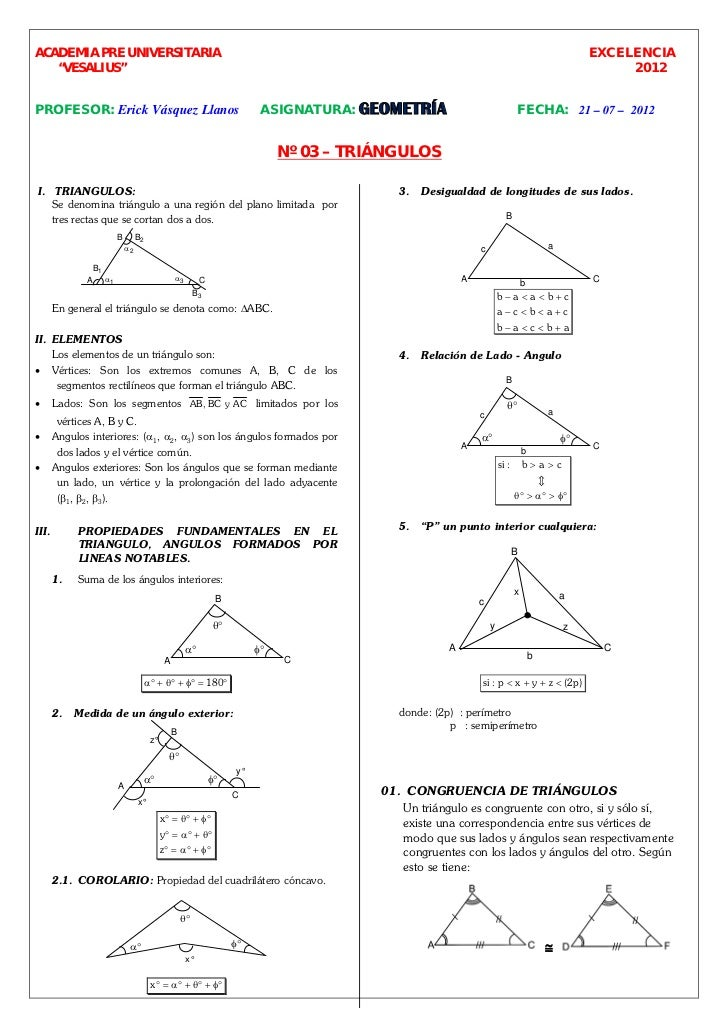 Excelencia geo 2012 03 triangulos