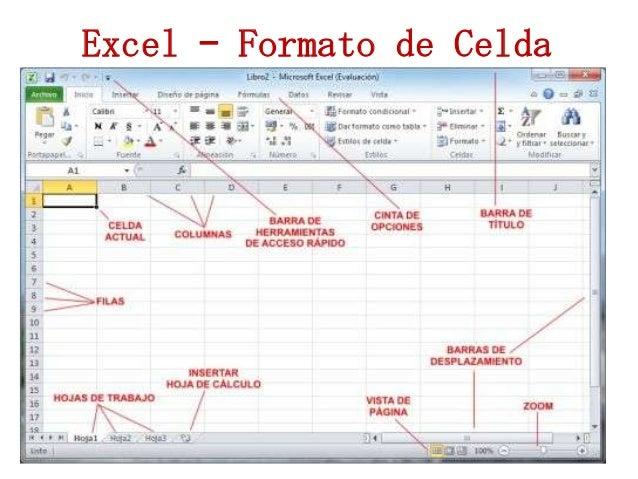 Excel – Formato de Celda