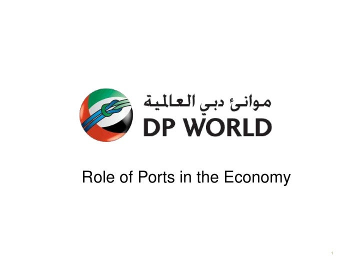 Role of Ports in the Economy                               1