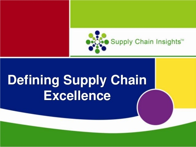 What is Supply Chain Excellence? A Closer Look at Industry Performance