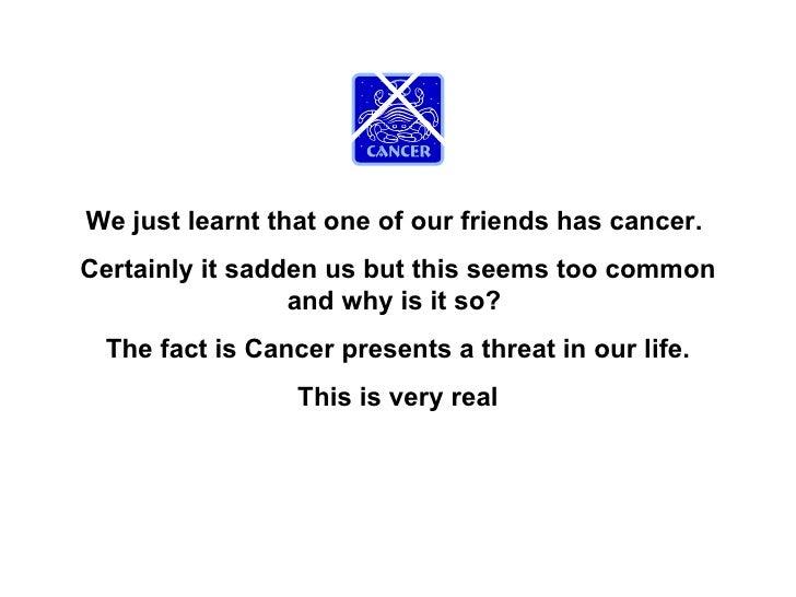 Excellent presentation on_cancer