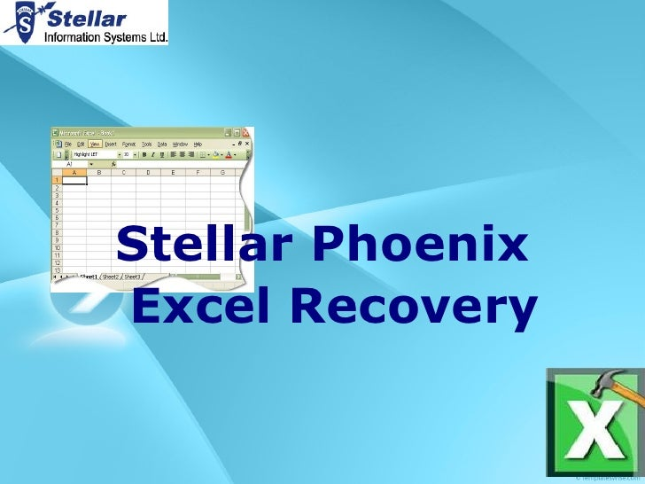 Stellar Excel Repair Tool