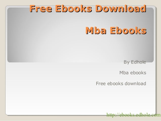 Free Ebooks Download ! Edhole