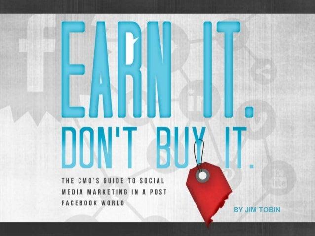 Earn It. Don't Buy It. Free Chapter