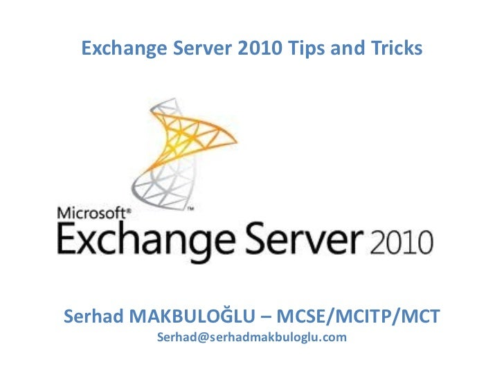 what is exchange server 2010 pdf
