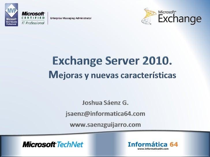 Exchange Server 2010 & Message Stats