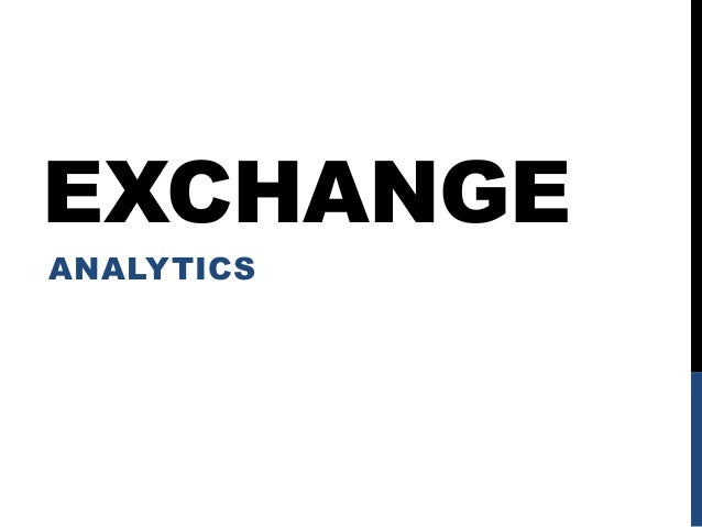 EXCHANGEANALYTICS