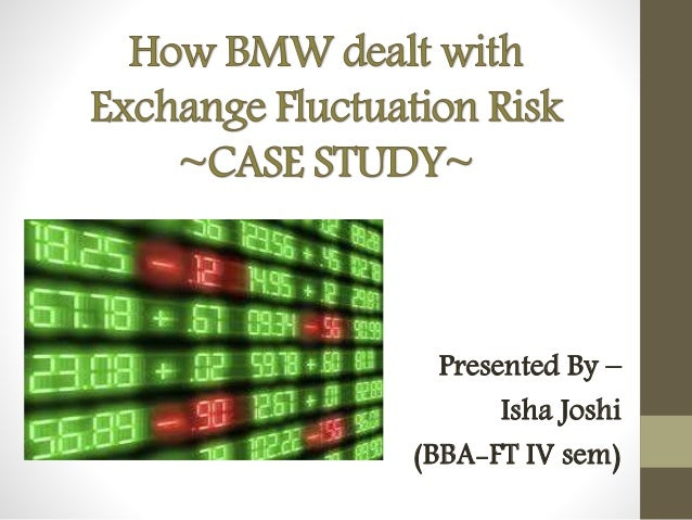 management of currency fluctuations