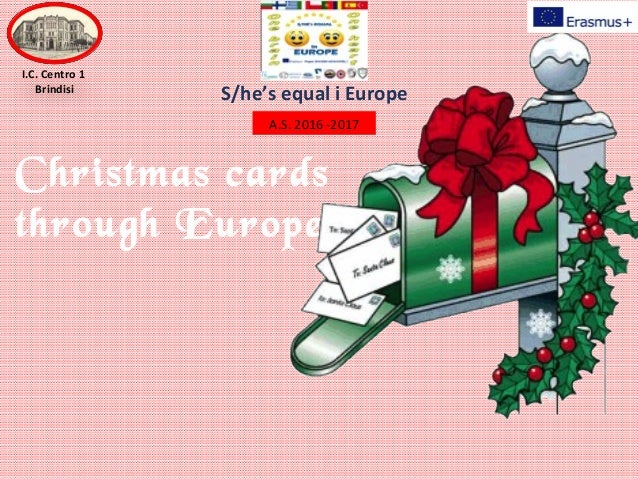 Exchange of Christmas cards