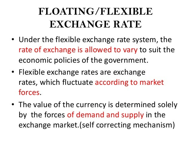 the floating exchange rate system in the united kingdom With the advent of floating exchange rates, the foreign exchange market has become unregulated no institution sets rules for trading, and it is not under the supervision of any international organization when necessary, governments and central banks often work together to restore stability to the fx market foreign exchange and international.