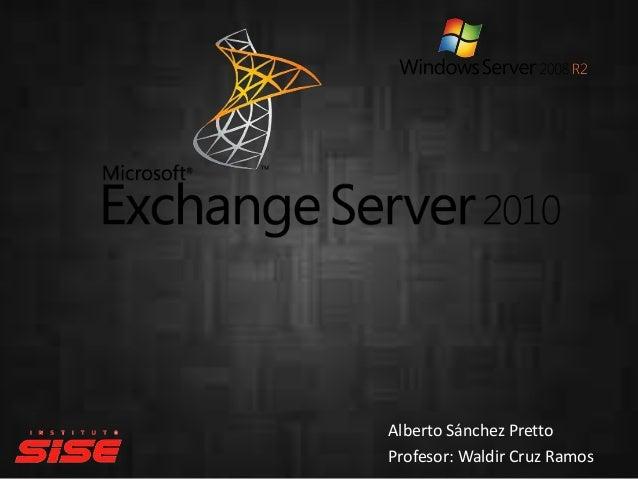 Exchangeserver2010 expo