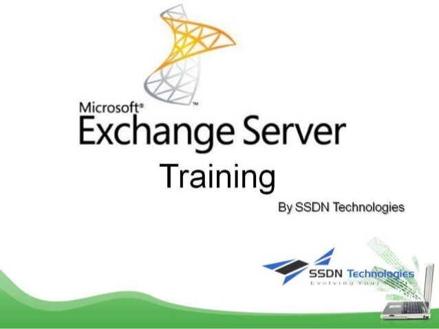 Best Exchange server training in Delhi