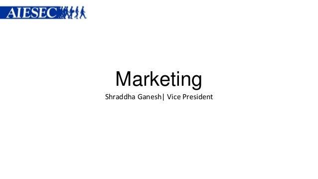 Shraddha Ganesh| Vice President Marketing