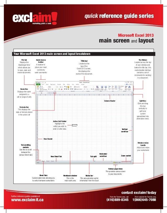 microsoft excel 2013 user manual pdf
