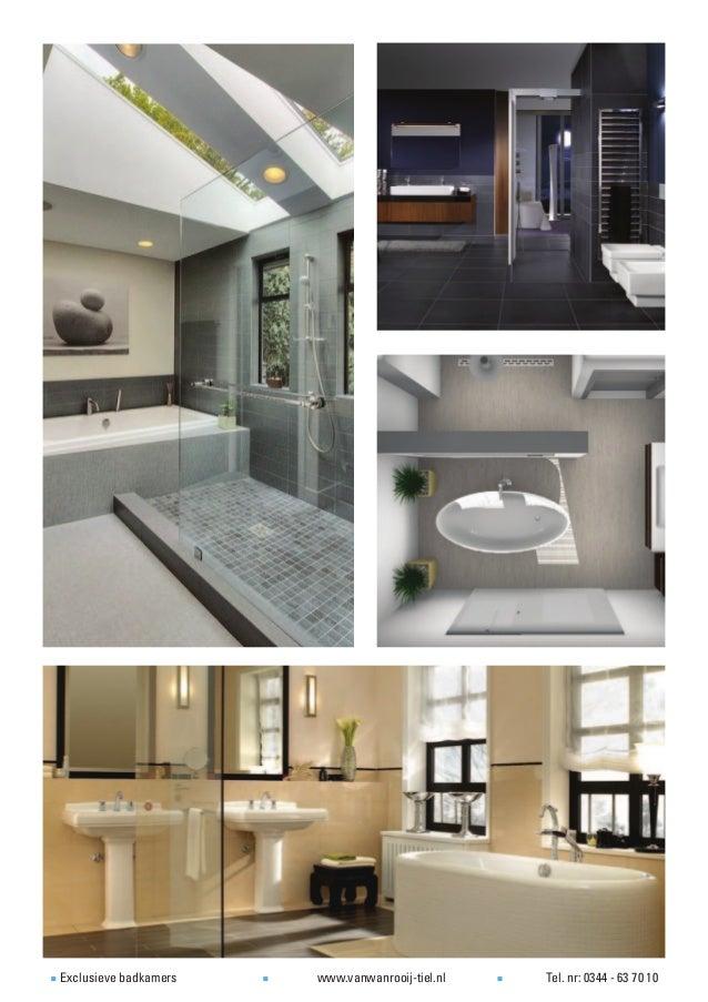 Muurverf Voor Badkamer ~ Voorbeelden van exclusieve badkamers