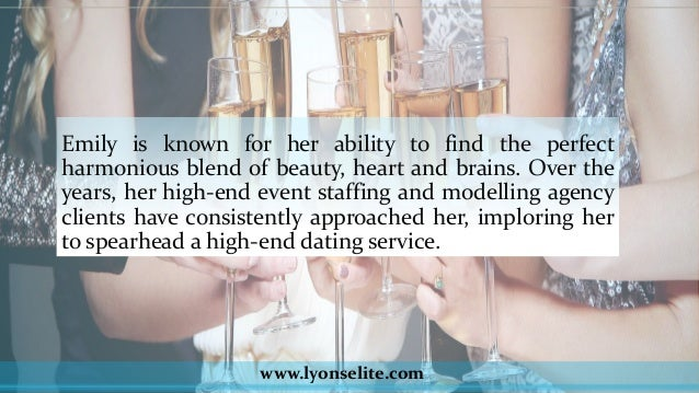 Elite dating agency