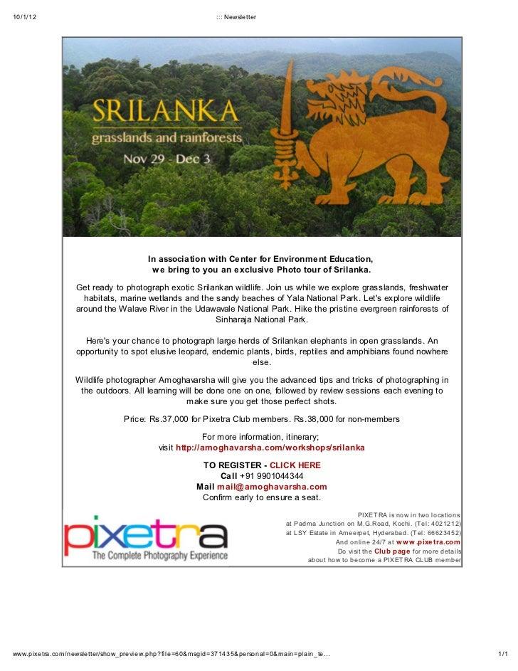 Exclusive photo tour of srilanka