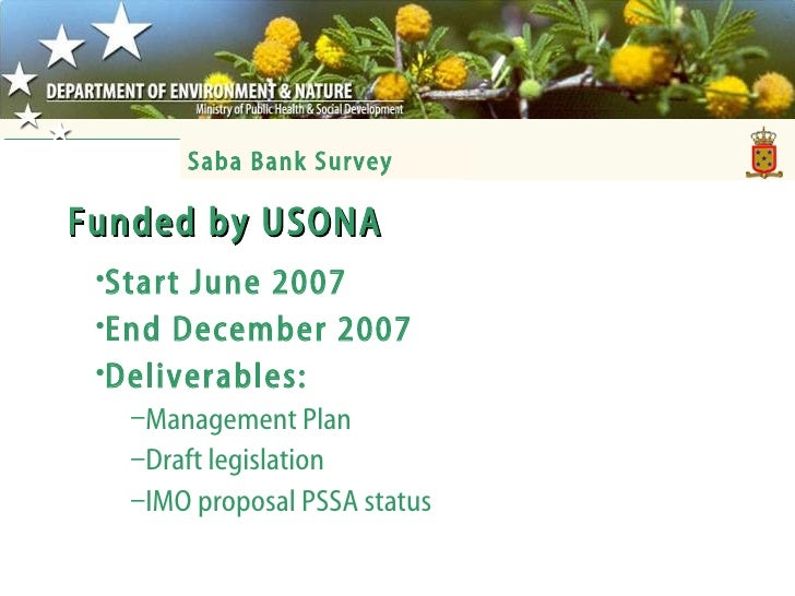 Funded by USONA <ul><li>Start June 2007 </li></ul><ul><li>End December 2007 </li></ul><ul><li>Deliverables: </li></ul><ul>...