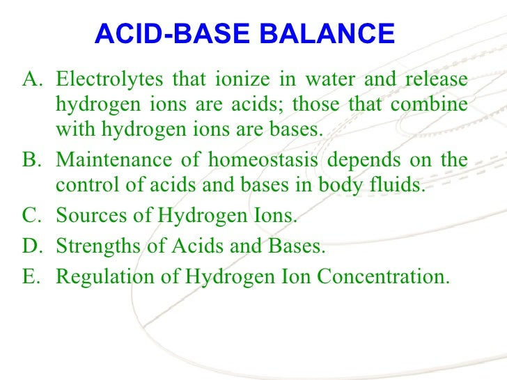 Excretory Syste... Fluid And Electrolytes Ppt
