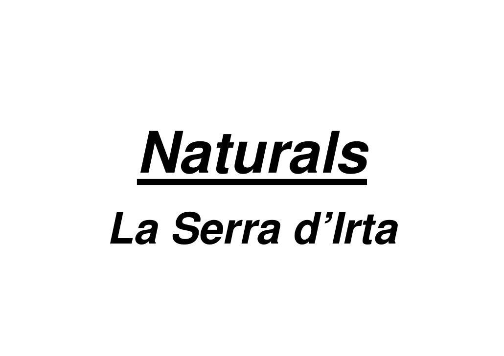 Naturals La Serra d'Irta