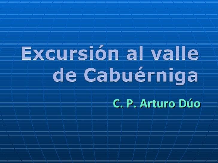 C. P. Arturo Dúo