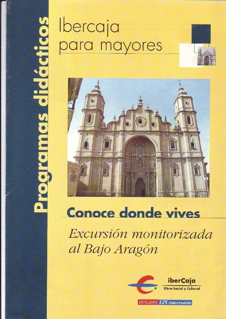 Excursión al Bajo Aragón