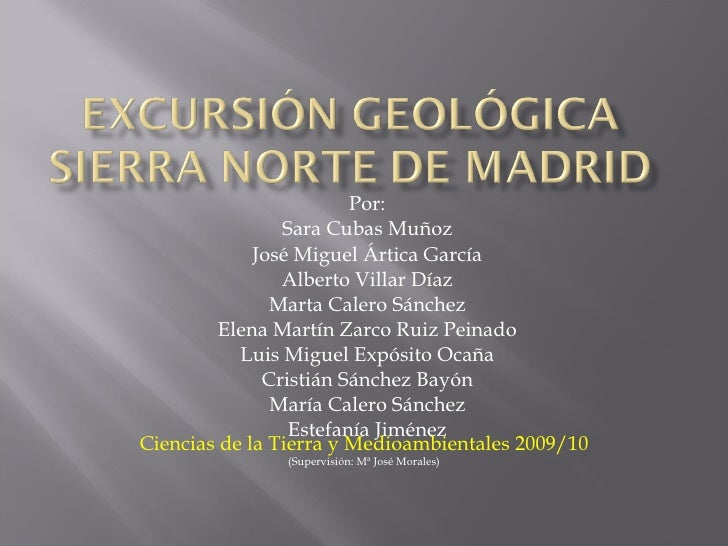Excursion Geologica Ctm