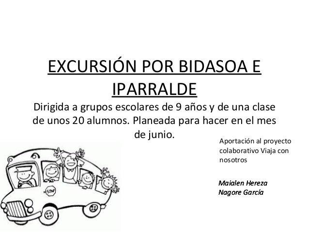 Excursion por Bidasoa e Iparralde, propuesta para @ViajaconNos