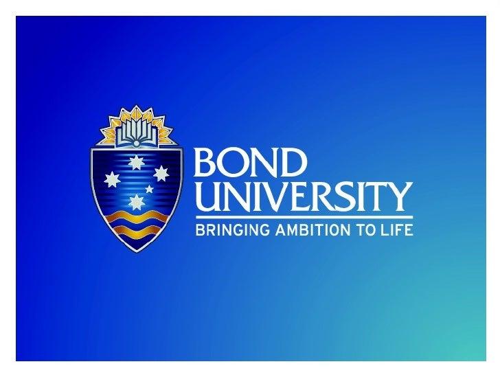 Bond Case Study