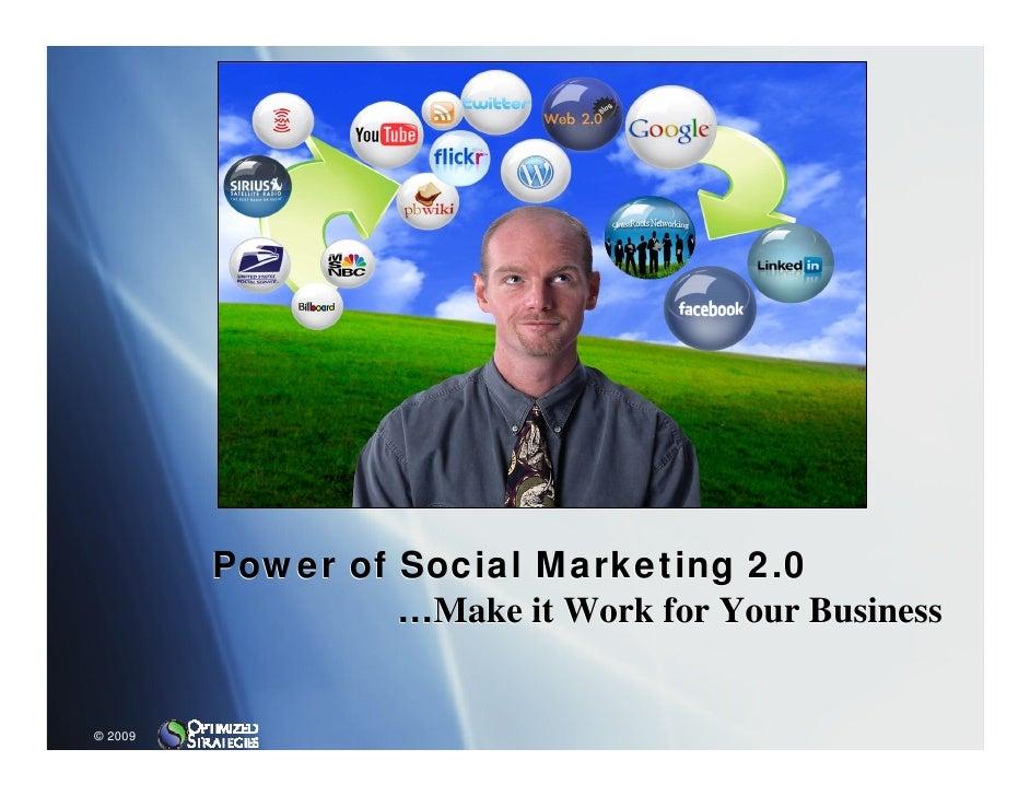 Power Social Marketing 2.0...